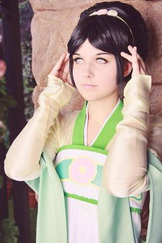 Amazing Toph cosplay << Avatar really does have some of the greatest… …