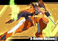 Charlotte Dunois R-Revive-Custome II