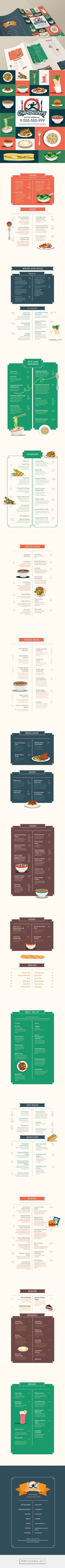 Cravebusters (Midnight food delivery) - Takeaway Menu by Ramsha Qamar