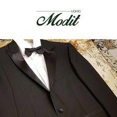 """Per occasioni speciali ed eventi glam, MODIT propone un outfit dal look prestigioso e di classe.  ▹ѕмoĸιɴɢ """"Dinner Th 5"""" ▹ᴄᴀᴍɪᴄɪᴀ Massimo La Porta ▹ᴘᴀᴘɪʟʟᴏɴ Tonello"""
