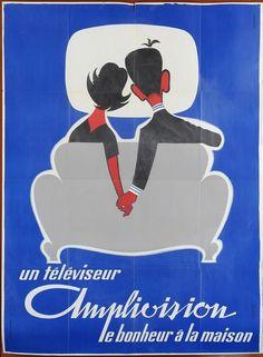 Un téléviseur Amplivision,  le bonheur à la maison - 1960 -