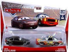 Amazon.com: Disney/Pixar Cars Bob Cutlass and Darrell Cartrip Diecast Vehicle, 2-Pack: Toys & Games