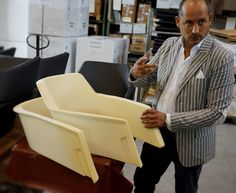 Completing Major chair production process with the help of the master Mr. Pergentino