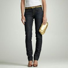 Jcrew Jeans Premium matchstic Thsese jeans look darker in person This is the EXACT jean dark. Size 27 s J. Crew Jeans