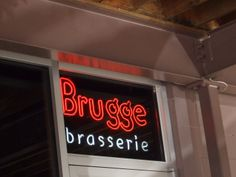 Brugge, Indianapolis - one of my favorite spots meeting the girls!!