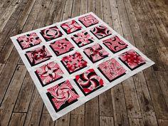 Tutorial - Sashing Your Shadow Quilt Blocks and Assembling Your Quilt Top 3d Quilts, Quilt Top, Quilt Blocks, Fiber Art, Quilt Patterns, Auburn, Quilt Pattern, Quilting Patterns, Quilt Block Patterns