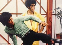 Bruce Lee & Jim Kelly