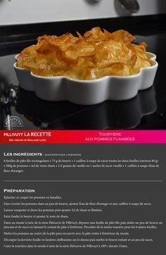 Envie de sucré ?  Laissez-vous tenter par la tourte aux pommes flambées de Guillaume Lopez !