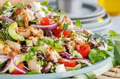 Greens Recipe, Lunch Time, Cobb Salad, Pesto, Nom Nom, Food And Drink, Vegan, Baking, Dinner