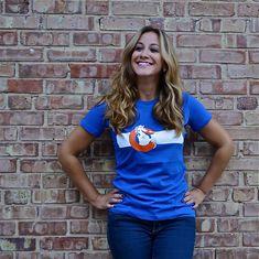 Denver Broncos / Colorado Flag Ladies' T-Shirt