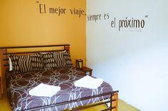 """""""El mejor viaje siempre es el próximo"""" ¿Estás de acuerdo con la frase del @ElViajeroHostel? #Cartagena #MeetTheWorld Hostel, Bed, Furniture, Home Decor, Cartagena, Get Well Soon, Decoration Home, Stream Bed, Room Decor"""
