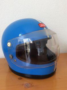 vintage Nolan Guardsman motorcycle helmet