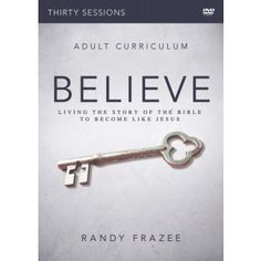 The Believe Adult Study gives groups of all sizes the opportunity to learn, discuss, and apply what they experience in this 30-session journey through the Bible by exploring 30 essential beliefs, practices, and virtues that every Christian needs to know and live.