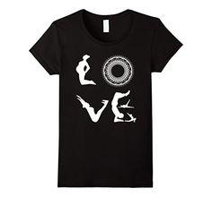 Amazon.com: Yoga LOVE T-shirt: Clothing