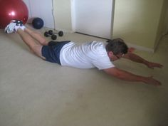 Superman Exercise by Your Personal Best Training Studio, via Flickr