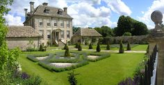 """classicalbritain: Nether Lypiatt Manor - The Cotswolds, England  """"Nether Lypiatt is one of England's most enchanting smaller country houses. The Ashlar masonry has weathered to a richly satisfying grey, and the house has a perfect roof of Cotswold stone slate. The house was built between 1702 & 1705."""""""