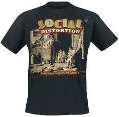 Bändipaidat: Social Distortion Koko XL