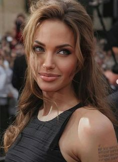 World Most Beautiful Woman, Angelina Jolie, Celebrity Crush, Crushes, Actresses, Celebrities, Face, Lips, Female Actresses