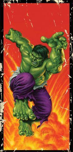 """Because you thought you were stronger than the Hulk? No one is stronger than the Hulk! Marvel Comics Superheroes, Dc Comics Art, Marvel Comic Books, Comic Book Heroes, Marvel Heroes, Comic Books Art, Comic Art, Book Art, Hulk 3"