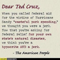 F*** you Ted Cruz!!!