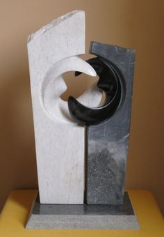 Sculpture in marble
