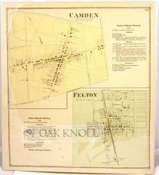 CAMDEN AND FELTON. MURDERKILL, KENT CO. DEL. D. G. Beers.