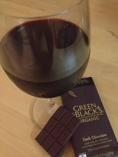 Malbec and chocolate are a tasty match!