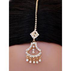 goldpolish white diamond tikka-1150