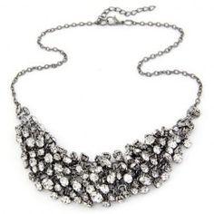 Wholesale Punk Rivet Solid Color Necklace For Women (AS THE PICTURE), Necklaces - Rosewholesale.com