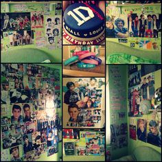My wall (not all), my drawings, my cake, and many other things with you. Add image to me all the random bits.:(  I have so much more. ♥