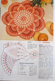 crochet doilies View album on Crochet Doily Diagram, Crochet Mandala Pattern, Crochet Chart, Thread Crochet, Filet Crochet, Crochet Stitches, Crochet Patterns, Crochet Placemats, Crochet Table Runner