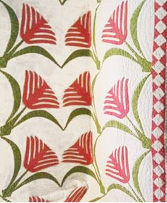Historically Modern: Quilts, Textiles & Design: Scale in Vintage Quilts