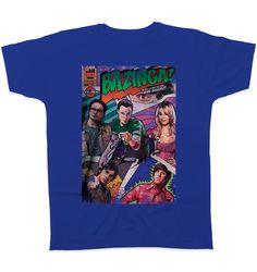 The Big Bang Theory T-Shirt Bazinga Comic
