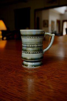 Vintage Wade Tyrone Miniature Tankard, Espresso Cup, Irish Porcelain, Tiny, Celtic, Petite Bud Vase, Green Ceramic, Collectible, Ireland by BarefootAndCivil on Etsy