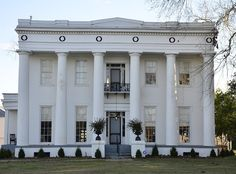 Noble Hall is a historic Greek Revival style plantation . Old Southern Homes, Southern Plantation Homes, Southern Mansions, Southern Plantations, Plantation Houses, Southern Charm, Greek Revival Architecture, Southern Architecture, Abandoned Houses