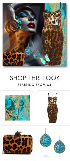 """""""Animalier"""" by nicolevalents ❤ liked on Polyvore featuring House of Harlow 1960 and Ippolita"""