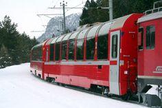 Paris to Italy via Zurich on the Bernia Express