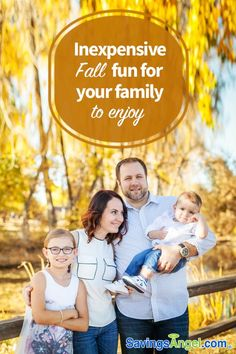 Fall is a time of family togetherness and plenty of ways to make family memories. Here are 37 ideas for inexpensive Fall fun for your family to enjoy. Bonding Activities, Family Activities, Ways To Save Money, Money Saving Tips, Saving Ideas, Money Tips, Family Game Night, Family Games, Autumn Activities For Kids