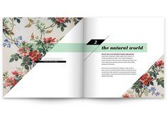 Book Redesign: Pattern Design by Allie Fields, via Behance