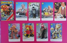 Vintage Fournier Fraggle Rock playing cards / Baraja dfe cartas Fraggle Rock de Fournier | Flickr - Photo Sharing!