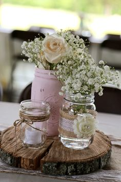 Ideas Bridal Shower Decorations Elegant Fall For 2019 Country Wedding Centerpieces, Floral Wedding Decorations, Bridal Shower Decorations, Flower Centerpieces, Wedding Flowers, Decor Wedding, Centrepieces, Wedding Ideas, Table Centerpieces