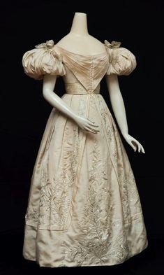 Evening dress ca. 1829-31 From Cora Ginsburg LLC