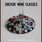 decorate your wine glasses
