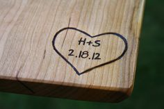 Personalized Engravings - Personalization For Our Cutting Boards And Other Wood…