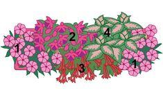 Pflanzidee Blumenkasten Schattenkünstler