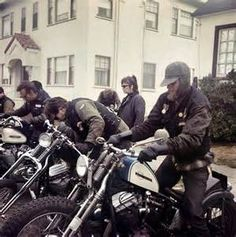 Hells Angels Photos And Self Portraits By Hunter S Thompson 500x503