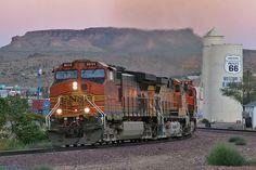 Kingman, AZ - Route 66.. I actually rode an Amtrak train to this location