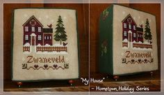 My house from the Hometown Holiday series from Little House Needleworks