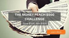 MoneyPeach $500 Challenge + GiveawayMoneyPeach $500 Challenge + Giveaway please use my link: http://www.moneypeach.com/giveaways/money-peach-500-challenge/?lucky=692 via @themoneypeach
