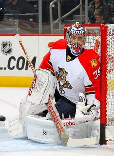 Al Montoya, Florida Panthers vs. Winnipeg Jets - Photos - January 13, 2015 - ESPN